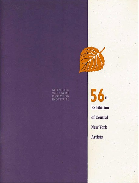 56th Exhibition, Munson Williams Proctor Institute, 1997 1