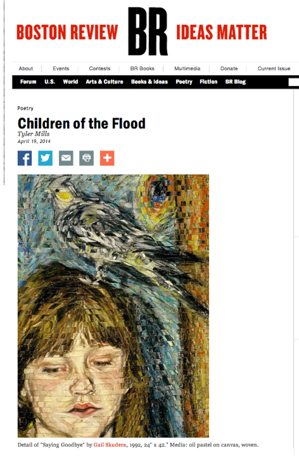 Boston Review, Poetry, Children of the Flood, Tyler Mills, 2014