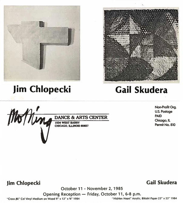 Jim Chlopecki, Gail Skudera, MoMing Gallery FB WEB