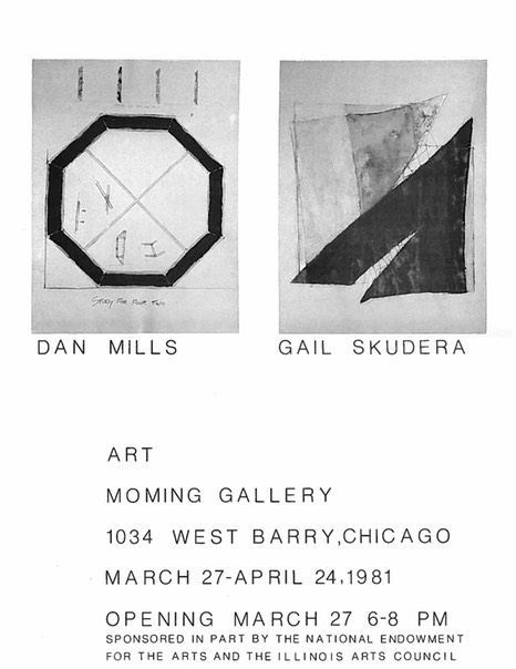 MoMing Gallery, Chicago, 1981