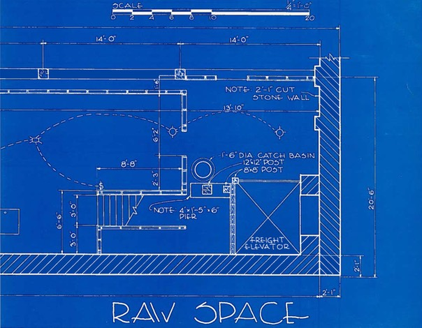 Raw Space, ARC Gallery, 1981, 1982, 1983
