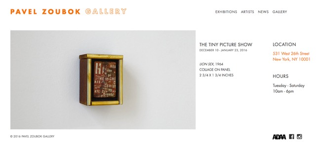 The Tiny Picture Show